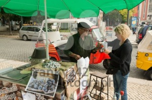 Typical chestnut vendor in the streets of Lisbon - franky242 photography