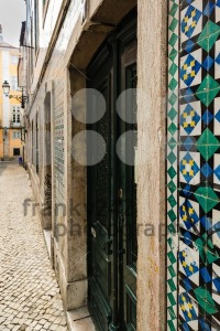 Typical old buildings in the centre of Lisbon, Portugal - franky242 photography