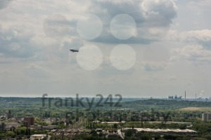 Aerial view of Ruhr area and its plants - franky242 photography