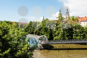 Artificial Mur Island in Graz, Austria - franky242 photography