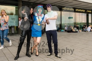 Cosplayers posing during Comic Con Germany in Stuttgart - franky242 photography
