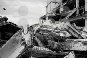 Demolished house - franky242 photography