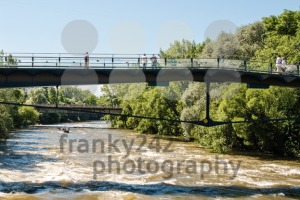 Exercise of the water rescue services in Graz, Austria - franky242 photography