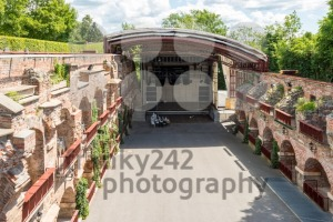 Open Air theatre Kasematten on the Schlossberg, castle rock, in Graz, Austria - franky242 photography