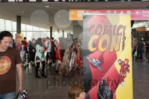 Visitors of the Comic Con Germany in Stuttgart - franky242 photography