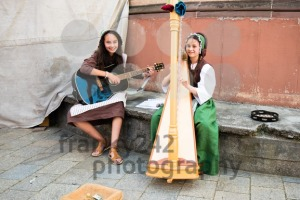 Children performing music at historic festival - franky242 photography