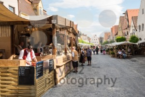 Foodstalls at historic festival - franky242 photography