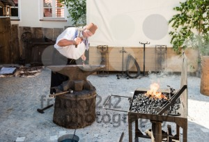 Historic Blacksmith At Work - franky242 photography