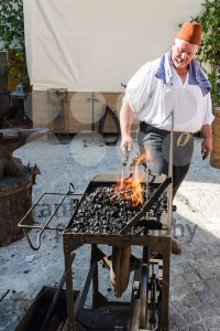Historic Blacksmith At Work - franky242 photography