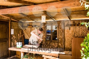 Historic carpenter in his workshop - franky242 photography