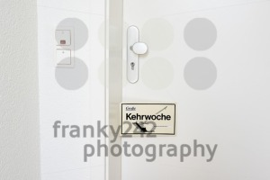 Kehrwoche reminder - the rotation of cleaning duties - franky242 photography