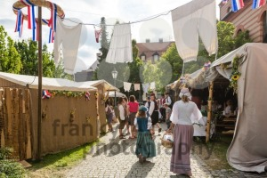Stalls and tents at historic festival - franky242 photography