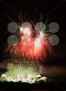Huge Colorful Fireworks - franky242 photography