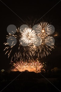 Huge Golden Fireworks - franky242 photography