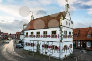 Old townhall of Schoeppingen in Muensterland, Germany - franky242 photography