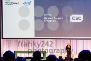 HPE president and chief executive officer Meg Whitman is talking about the CSC merger - franky242 photography