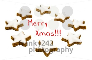 Christmas greetings - cookies and text - franky242 photography