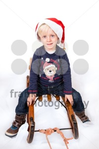Cute boy in Christmas mood - franky242 photography