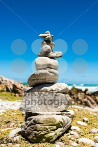 Balanced stack of stones - Zen design concept - franky242 photography