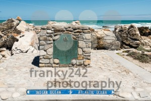 Cape Agulhas, the southernmost tip of Africa where Atlantic and Indian Oceans meet - franky242 photography