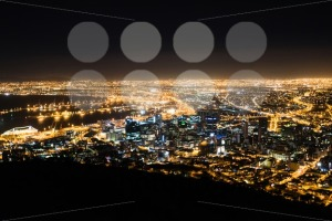 Cape Town city at night - franky242 photography