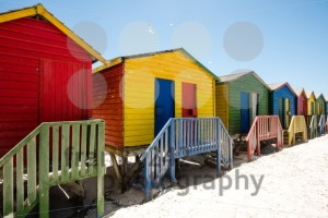 Colorful beach huts - franky242 photography