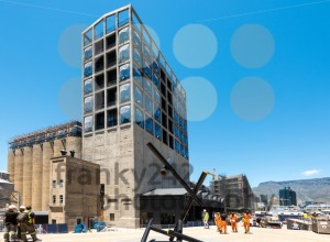 Construction site of the new Zeitz Museum of Contemporary Art of Africa in Cape Town - franky242 photography