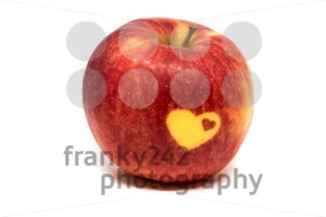 Love vitamins - apple with hearts - franky242 photography