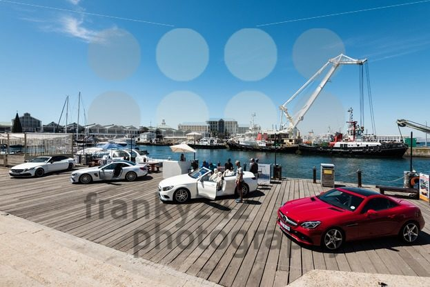 Mercedes Benz showcasing its cars on the V&A Waterfront in Cape Town - franky242 photography