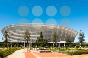 Front view of Cape Town Stadium at Green Point - franky242 photography