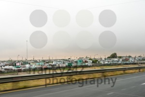 Passing Khayelitsha Township Shacks - franky242 photography