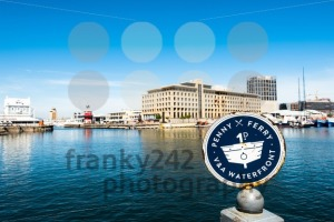 Penny Ferry stop at the V and A Waterfront in Cape Town, South Africa - franky242 photography