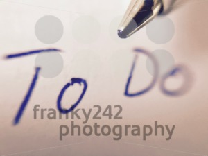To Do memo and pen - franky242 photography