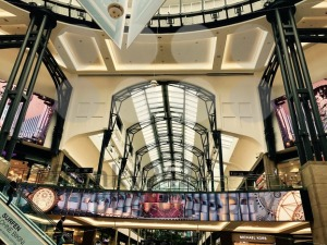 Interior of the Centro Shopping Mall in Oberhausen, Germany - franky242 photography