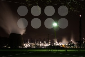 Oil refinery at night - franky242 photography
