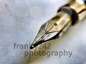 Tip of a fountain pen - franky242 photography