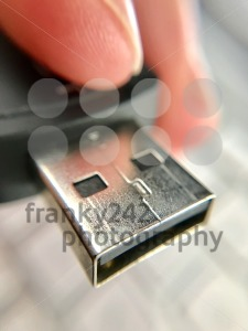 USB Stick Closeup - franky242 photography
