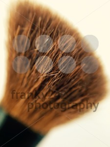 closeup of a make up brush - franky242 photography