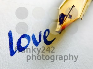 love message with pen - franky242 photography