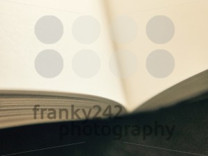 open book on dark table - franky242 photography