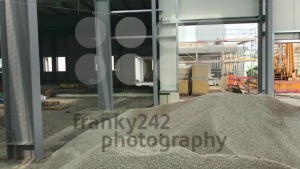 Construction site of a future warehouse - franky242 photography