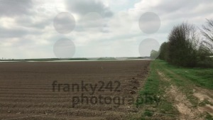 Panning over fields into dramatic sky - franky242 photography