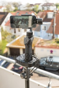Smartphone video panorama setup - franky242 photography