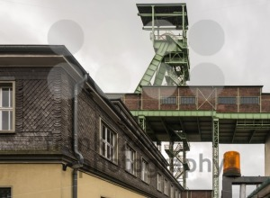 The headframe of Mine Georg in Willroth, Germany - franky242 photography