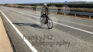 Woman on e-bike - franky242 photography