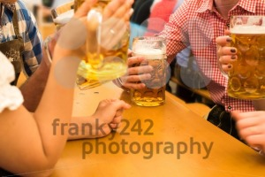 Couples having fun at the Oktoberfest - franky242 photography