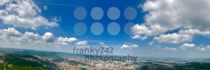 Panoramic view of Stuttgart, Germany - franky242 photography