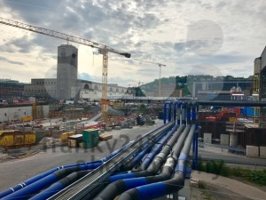 Stuttgart main station construction site - franky242 photography