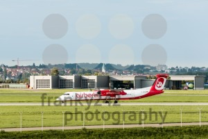 AirBerlin plane at Stuttgart airport - franky242 photography
