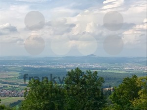 Panoramic view of the Swabian Alb (the smaller Alps) - franky242 photography